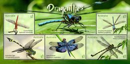 Australia - 2017 - Dragonflies - Mint Souvenir Sheet - 2010-... Elizabeth II