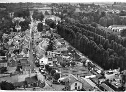 94 - LIMEIL BREVANNES : Le Centre Du Pays - Le Chateau - CPSM Dentelée N/B GF - Val De Marne ## Carte Coupée ## - Limeil Brevannes