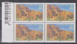 Année 2007 - N° 138 X 4  - U.N.E.S.C.O. - Ksar D'AÏt-Ben-Haddou (Maroc) - Nuevos
