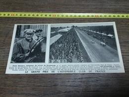 AN 20/30 GRAND PRIX DE L AUTOMOBILE CLUB DE FRANCE FELICE NAZZARO - Collections