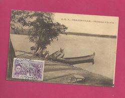 Carte Postale Du Congo Pour La Belgique - YT N° 110 - Exposition Coloniale De Paris - French Congo (1891-1960)