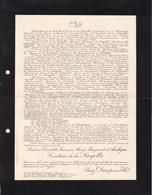 ANGERS Charlotte Comtesse De La SAYETTE 70 Ans 1927 Famille Marquis D'ANDIGNE - Obituary Notices