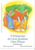 CPM - ALPES MARITIMES - SAINT JEANNET - 2EME PRINTEMPS DU LIVRE JEUNESSE - ELEPHANT - France