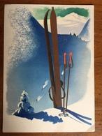 (ski) Jupp WIERTZ: Les Joies De L'hiver En Allemagne, 1942, SUP. - Sports D'hiver