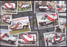 BE 2013 - BUZIN - N° 4312/13 XX -  EUROPA - Sécurité Routière: Go For Zero - Camionnette De Bpost - Belgique