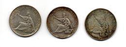 RedC/a - ITALIA 1961 , 500 Lire Unità D' Italia - Argento 835 : Tre Esemplari - 1946-… : République