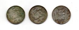 RedC/b - ITALIA 1961 , 500 Lire Unità D' Italia - Argento 835 : Tre Esemplari - 1946-… : République