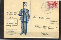 Dag Van De Postzegel 1943 Breda (EP-14) - Periode 1891-1948 (Wilhelmina)