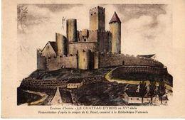 ORBEIL - LE CHATEAU D'YBOIS - ENVIRONS D'ISSOIRE - France