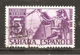 Sahara - Edifil 86 - Yvert Aéreo 16 (usado) (o) (defectuoso) - Sahara Español
