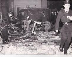 Politique OAS : Grande Photo Explosion D'un Colis Piegé Au Quai D'Orsay Par L'OAS Ph Ass Press - Sonstige