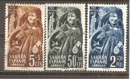Sahara - Edifil 94-96 - Yvert 82-84 (usado) (o) - Sahara Español