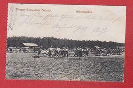 Zeithain  --  Truppen - Ubungsplatz  -  Geschützpark - Zeithain