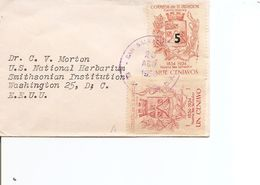 Salvador ( Lettre Carte De Visite De 1958 De SanSalvador Vers Les USA à Voir) - El Salvador