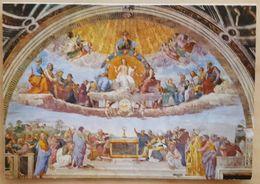 CITTA' DEL VATICANO - Stanze Di Raffaello - La Disputa Del SS. Sacramento - Raphael NV - Vatican