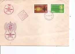 Maladies - Paludisme ( FDC De Bulgarie De 1962 Avec Timbres Non Dentelés à Voir) - Krankheiten