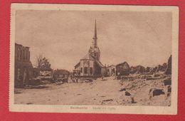 Bantheville  -  Strasse Mit Kirche - France