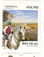 Portugal ** & Lusitan Horse And The Tagus River 2018 (650) - Cavalli