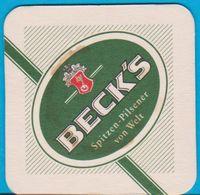 Brauerei Beck's Bremen ( Bd 1570 ) - Bierdeckel