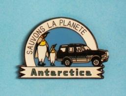 1 PIN'S //   ** SAUVONS LA PLANÈTE ** ANTARCTICA ** . (© Qualité Collectors Série Limitée) - Associations