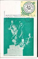 J) 1974 MEXICO, GUTEMBERG POSTCARD, V INTERAMERICAN PHILATELIC EXHIBITION, EFILMEX 74, UPU, SET OF 2 - Mexico