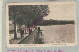 CP  74   THONON-les-BAINS  Les Bords Du Lac- Vue Des Bains   Animé Personnages   M 2018 1169 - Thonon-les-Bains
