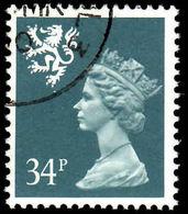 Scotland 1971-93 34p Deep Bluish Grey Litho Questa Fine Used. - Regional Issues