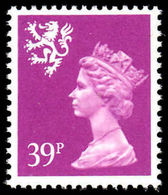 Scotland 1971-93 39p Bright Mauve Litho Questa Unmounted Mint. - Regional Issues