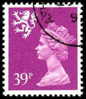 Scotland 1971-93 39p Bright Mauve Litho Questa Fine Used. - Regional Issues