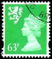 Scotland 1993-98 63p Light Emerald Photo Fine Used. - Regional Issues