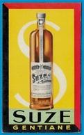 CALENDRIER Petit Format 1954 Publicitaire SUZE Gentiane Liqueur * Pub Publicité Réclame - Calendriers