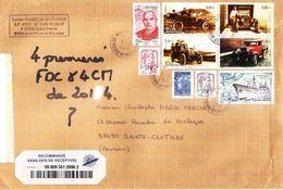 SAINT PIERRE ET MIQUELON (SPM) - Enveloppe Ayant Circulée Entre SPM Et LA REUNION - 11.03.2015 - St.Pierre & Miquelon