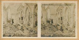 113 - GUERRE 1914-1918 - BELGIQUE - YSER 1916 - NIEUPORT - Un Coin De La Cathédrale - Nieuwpoort
