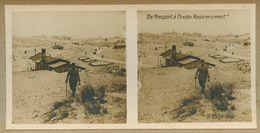 122 - GUERRE 1914-1918 - BELGIQUE - De NIEUPORT à COXYDE - Route En Ciment - Nieuwpoort