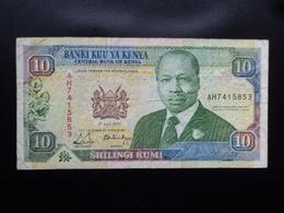 KENYA : 10 SHILINGI   1.7.1990  P 24b    TTB - Kenya