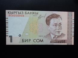 KIRGHIZISTAN : 1 SOM   1999  P 15    NEUF - Kyrgyzstan