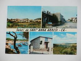 CAGLIARI - Saluti Da Sant'Anna Arresi - 5 Vedute - 1970 - Cagliari