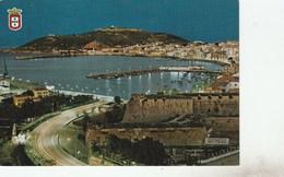 CEUTA VISTA NOCTURNA DE LA CIUDAD 2 SCANS - Ceuta