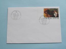 25 Jaar Postzegelclub HET VOLK 5-4-1986 / 9000 Gent ( Zie Foto's ) ! - Marcophilie