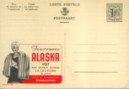 Carte Postale Neuve – PUBLIBEL N° 1280 « Fourrures Alaska – LA LOUVIERE » - Publibels