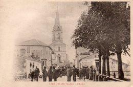 L'Ile D'Elle : L'église - Autres Communes