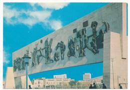 IRAQ/IRAK - BAGHDAD, Liberty Monument , Freedom Monument , Vintage Old Postcard - Iraq