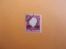 ISLAND,1925 M I-NR 120  OBL. GESTEMPELT. 400 EURO - Gebraucht