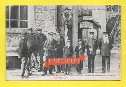 CPA 88 DOUANE Col Des Vosges Personnel Douanier Français Et Allemand Col Schlucht 1912 - 2 X Deutches Reich 5c Vert - Douane
