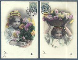 CPA - ENFANT - 5 Cartes - Abbildungen