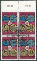 UNO WIEN 1983 Mi-Nr. 35 Viererblock O Used - Aus Abo - Centre International De Vienne