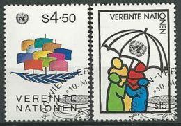UNO WIEN 1985 Mi-Nr. 49/50 O Used - Aus Abo - Centre International De Vienne