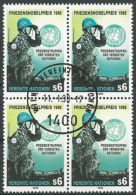 UNO WIEN 1989 Mi-Nr. 91 Viererblock O Used - Aus Abo - Centre International De Vienne