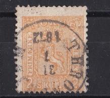 Brk_ Norwegen -  Mi.Nr. 12 - Gestempelt Used - Noruega