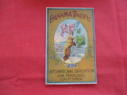 Panama Pacific 1915 Exposition San Francisco ---Tape Repair Bottom Left Corner  ---ref 2906 - Expositions